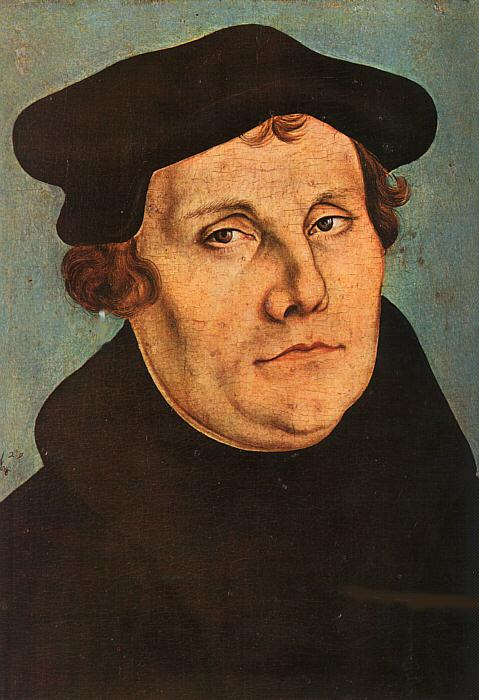 Martin Luther 2529 by Lucas Cranach the Elder