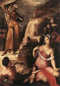 domenico-beccafumi1486-1551-moses-and-the-golden-calf-1536-1537