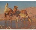 STYKA, Adam 1890-1959  THE CAMEL DRIVER
