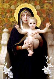 La Vierge aux Lys